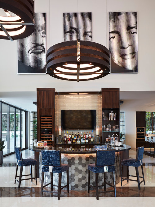 Best Contemporary Home Bar Design Ideas Remodel Pictures Houzz