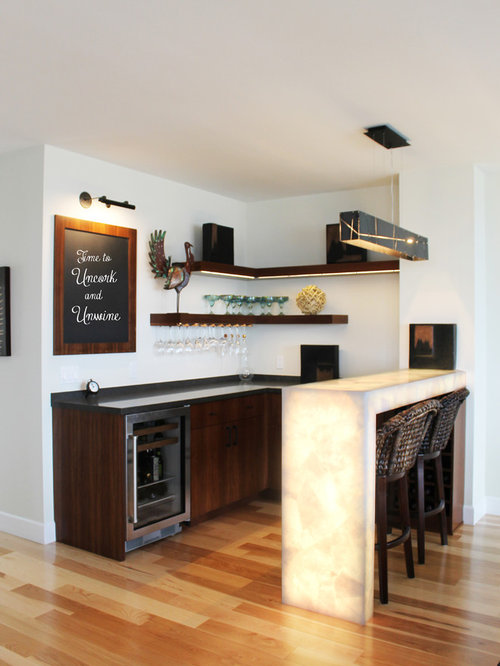 Best Contemporary Home Bar Design Ideas & Remodel Pictures   Houzz