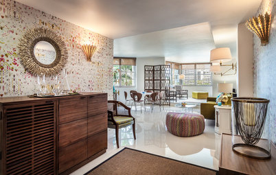 Houzz Tour: Happy Days Are Here Again in a Miami Apartment
