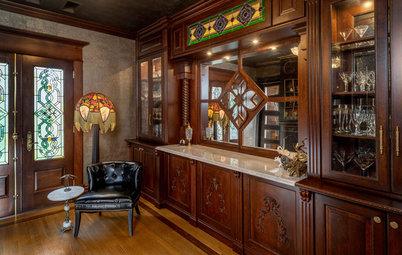 A Secret Bar Adds to the Fun of a Restored Ohio Victorian