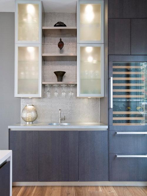 Houzz contemporary crockery cum bar home design design ideas