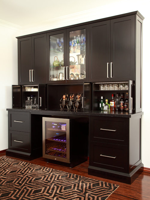 Transitional perth home bar design ideas renovations photos for Asian antiques perth