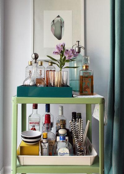 Midcentury Home Bar by Laura Garner