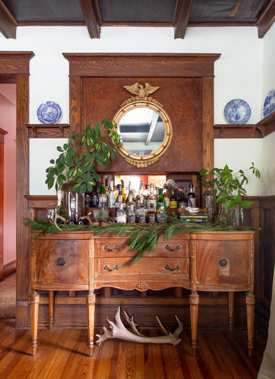 Traditional Home Bar by Rikki Snyder