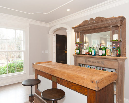 Farmhouse Home Bar Design Ideas Remodels Photos With Furniture Like Cabinets