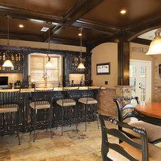 Rustic Home Bar by Simply Simpatico, Inc.