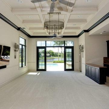 Newly Built Lakefront Estate