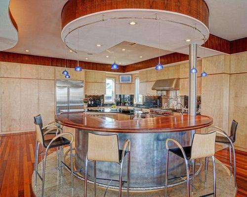 75 Contemporary Home Bar With Travertine Floors Design Ideas