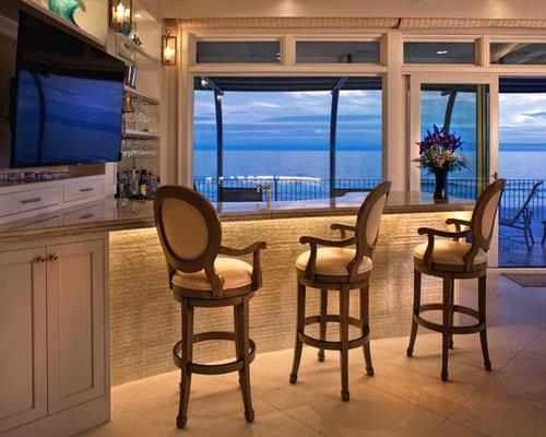 Beach Style Charleston Home Bar Design Ideas Remodels