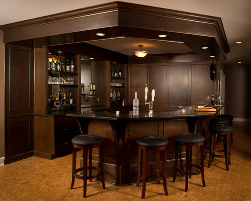 Dark Wood Molding Home Design Ideas, Pictures, Remodel And