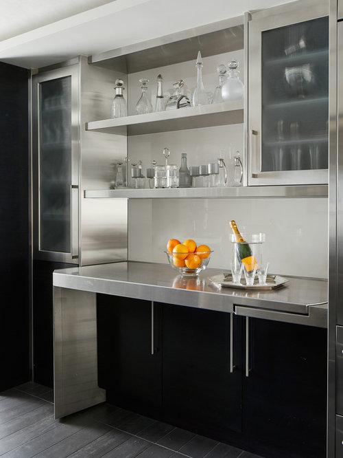 Best 100 Contemporary Home Bar Ideas & Remodeling Photos | Houzz