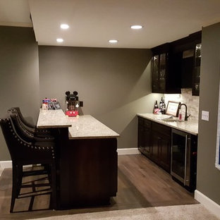 Olathe Man Cave Basement Finish