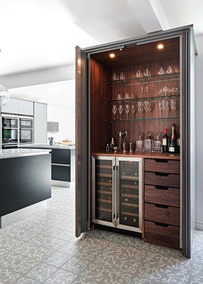 Contemporary Home Bar by Artisans of Devizes