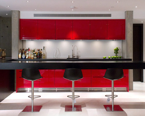 Modern Wet Bar Houzz