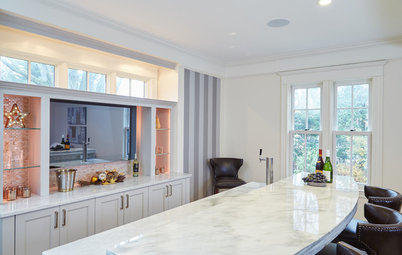 Room of the Day: Raising a Bar Makes a Family Room Party Central