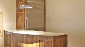 Reclaimed Chestnut Cabinetry