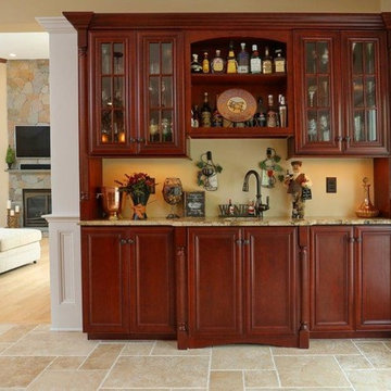 Refined Tuscan Kitchen