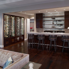 Contemporary Wine Cellar by Village Handcrafted Cabinetry
