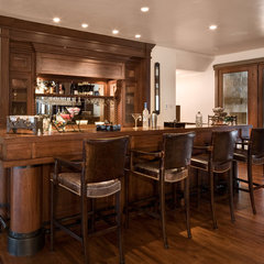 traditional dining room by Phillips Development