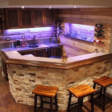 Rosehurst Residence Custom Bar