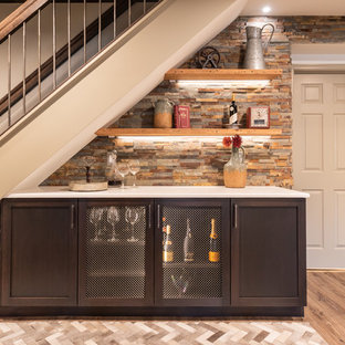 Rustic Chic Basement Overhaul