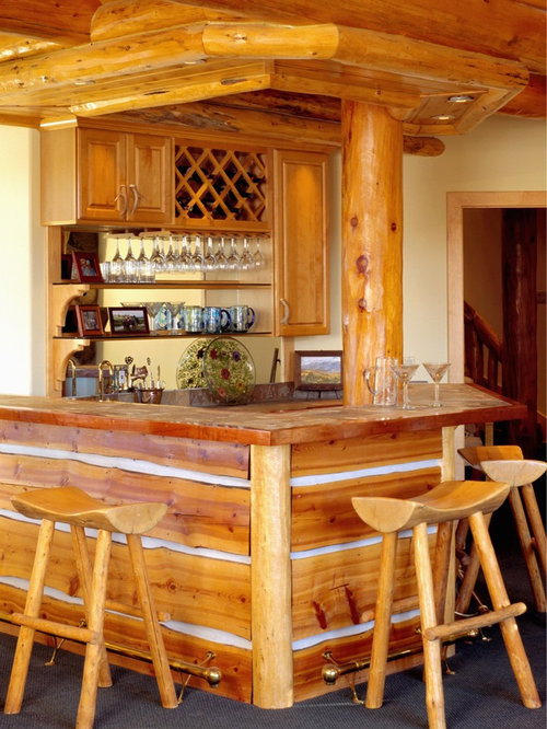 Log Cabin Bar Home Design Ideas Pictures Remodel And Decor