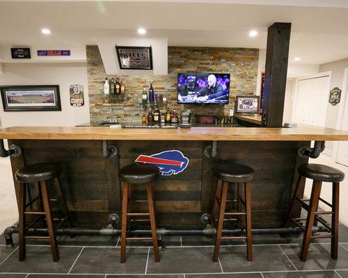 Rustic Sports Bar