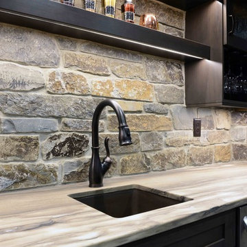 Rustic Style- Home Bar