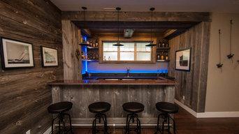 Rustic Western Style Bar