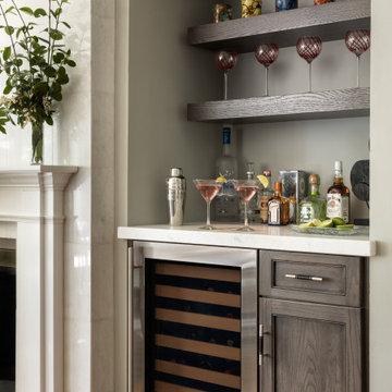 Salrit Contemporary Shaker Kitchen  & Bathroom Remodel