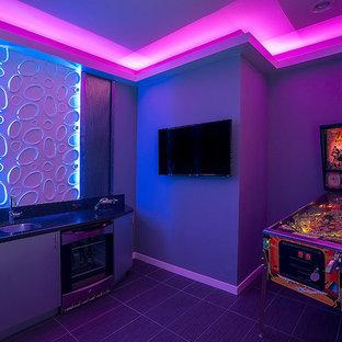 Sci-fi Game Room