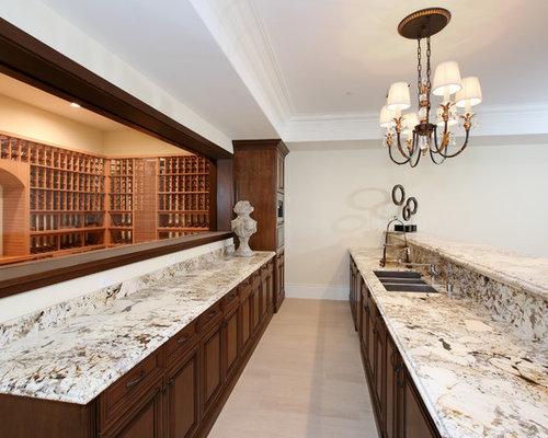 Coastal Home Bar With Travertine Flooring Design Ideas Pictures Inspiration
