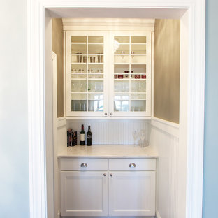 Small Butler's Pantry Between Dining Room and Kitchen