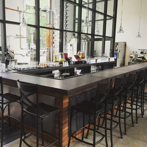 Home Bar Design Ideas Houzz: 600 Industrial Home Bar Design Ideas & Remodel Pictures