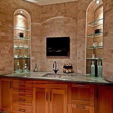 Tropical Home Bar by Matthew M. Graves, AIA