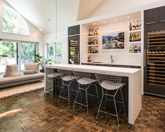 Home Bar Design Ideas Remodels  Photos - Home bar furniture ideas