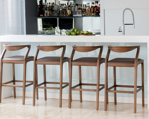 Best 70 Midcentury Modern Chicago Home Bar Ideas Photos Houzz