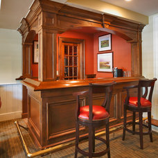 Traditional Home Bar by Country Club Homes