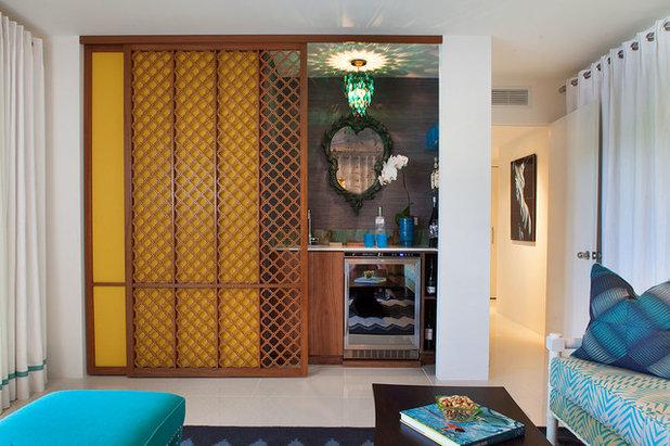 Midcentury Home Bar by Joel Dessaules Design