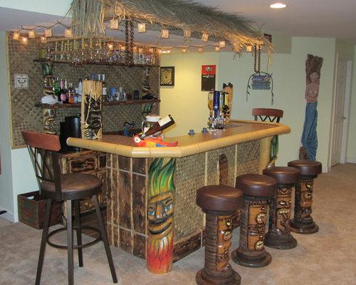 petit bar de salon exotique photos et id es d co de bars de salon. Black Bedroom Furniture Sets. Home Design Ideas