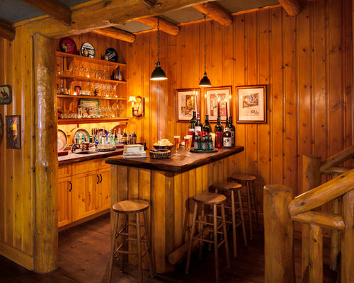 Awesome Rustic Home Bar Photos - Best inspiration home design ...