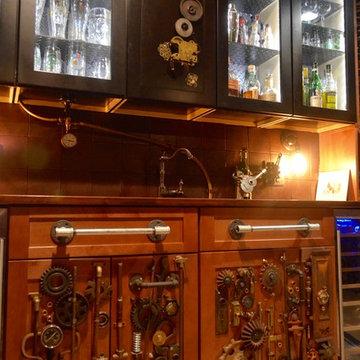 Steampunk Wetbar in Alexandria, VA