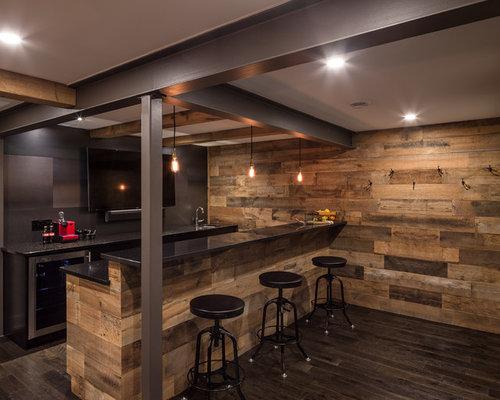Fotos de bares en casa dise os de bares en casa r sticos for Mobiliario rustico para bares