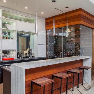 30 Trendy Modern Austin Home Bar Design Ideas - Pictures of Modern ...