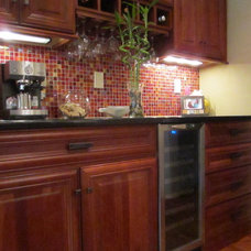 Contemporary Kitchen by Ahearn Cabinetry Designs, LLC