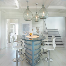 Beach Style Home Bar by Donna Elle Seaside Living