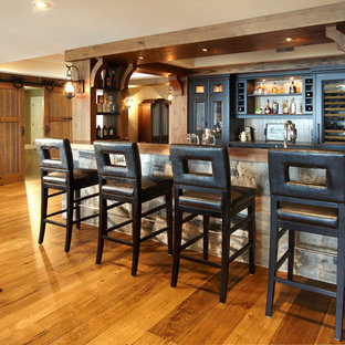 75 Rustic Home Bar Design Ideas - Stylish Rustic Home Bar Remodeling ...