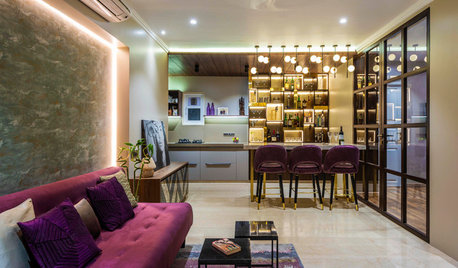 Houzz TV: A 860-Sq-Ft Flat Transforms Into a Glamorous Dream Home