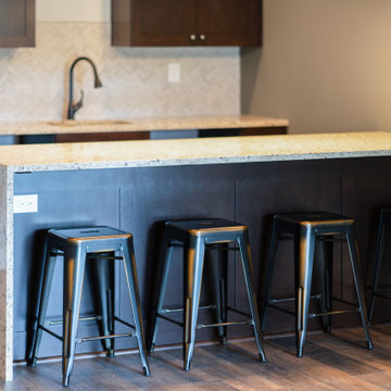 The Villas at Claymont: Industrial Craftsman Style