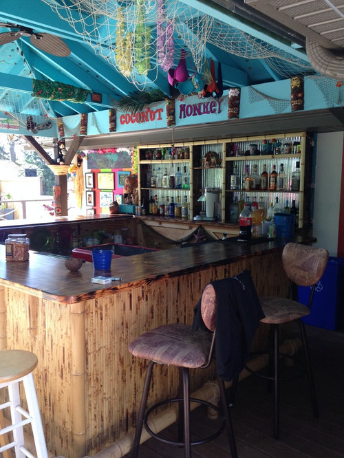 Best Tropical Milwaukee Home Bar Design Ideas Remodel Pictures Houzz